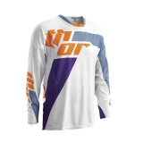 2016 THOR JERSEY, WHITE/PURPLE DRES