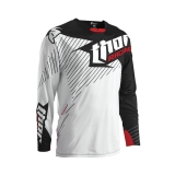 2016 THOR JERSEY,WHITE/BLACK DRES