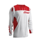 2016 THOR JERSEY, CORE CONTRO, WHITE/RED DRES