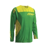 2016 THOR JERSEY, CORE CONTRO, KELLY GREEN/YELLOW DRES