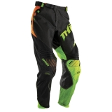 2016 THOR PANT, CORE AIR DIVIDE, BLACK/FLUORESCENT KALHOTY
