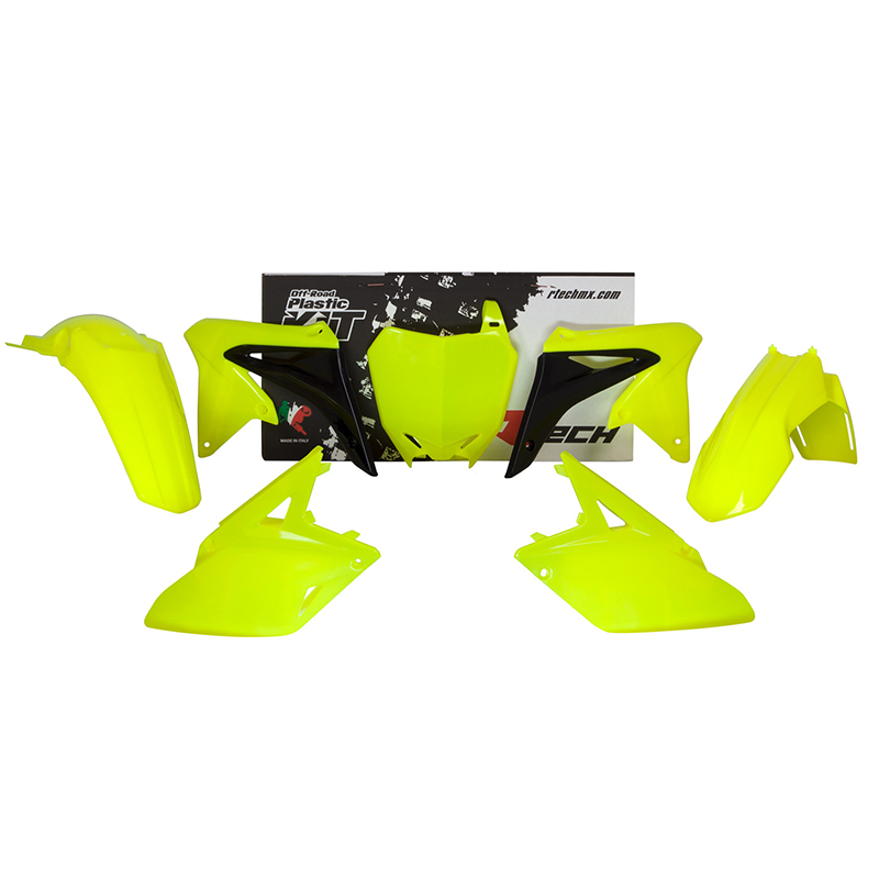 MX PLASTY - Sada plastů - Neon graphic kit YAMAHA 2014 - 2016
