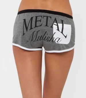 METAL MULISHA BEAMING SHORTS  KRAŤASY