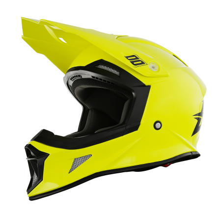 SHOT RACE GEAR 2018 HELMA STRIKER  UNI NEON YELLOW BRILLANT
