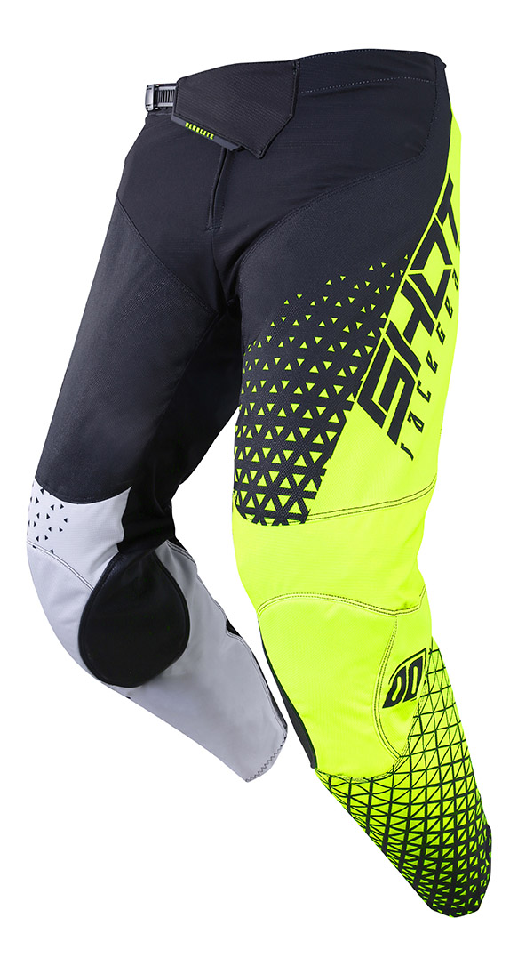 SHOT RACE GEAR 2019 AEROLITE DELTA GREY/ YELLOW NEON KALHOTY