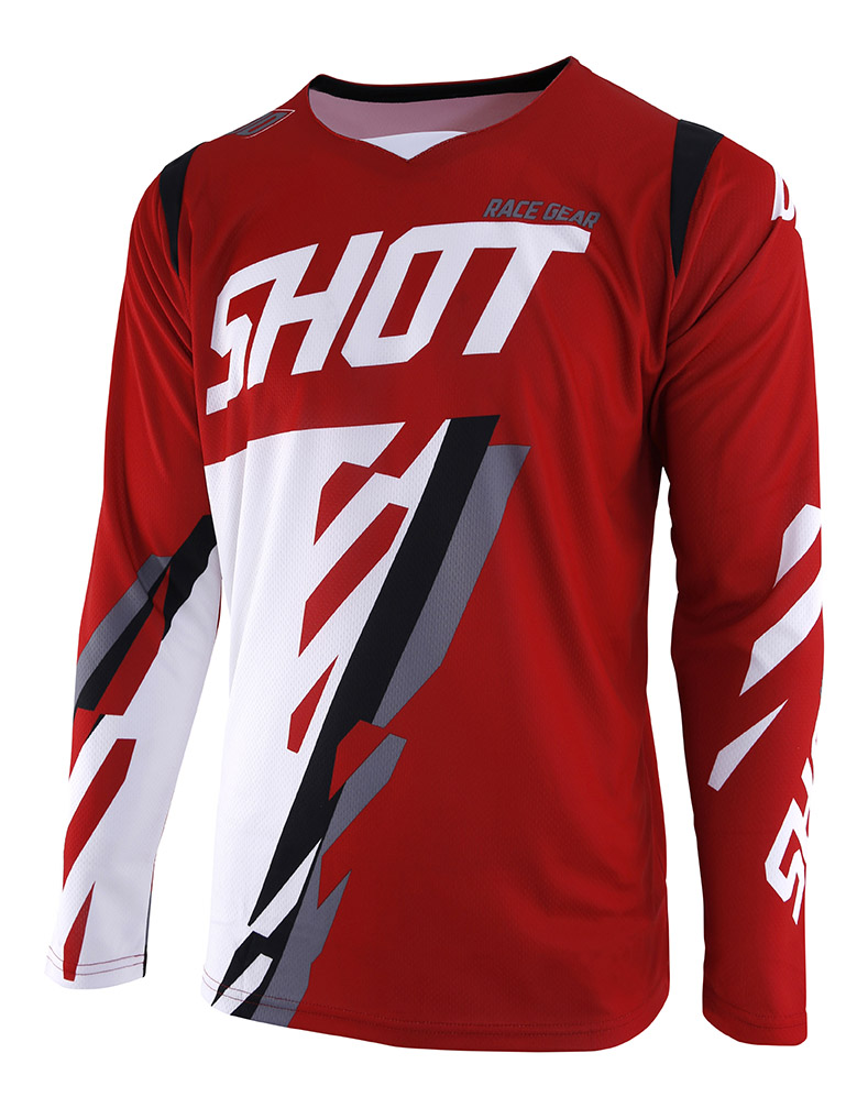 SHOT RACE GEAR 2019 CONTACT SCORE RED/WHT DRES