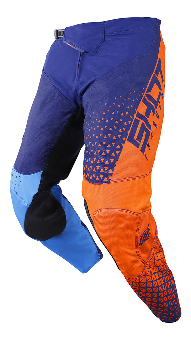 SHOT RACE GEAR 2019 AEROLITE DELTA  KALHOTY BLUE/NEON ORANGE