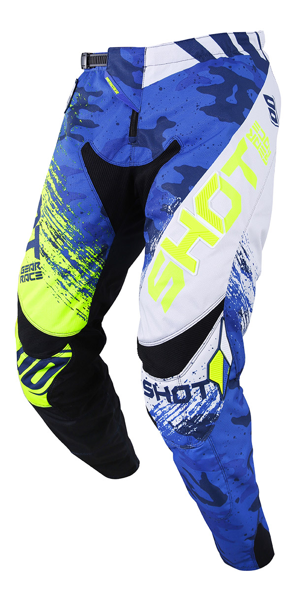 SHOT RACE GEAR 2019 CONTACT COUNTER  KALHOTY BLUE/NEON YELLOW