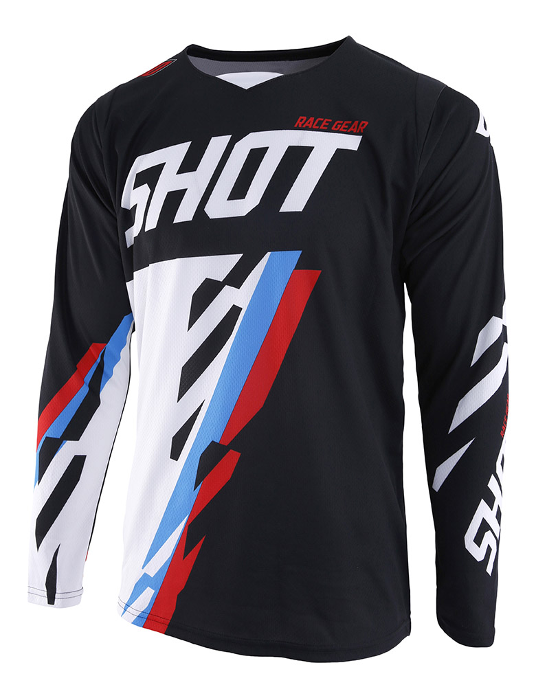 SHOT RACE GEAR 2019 CONTACT SCORE DRES BLK/BLUE/RED