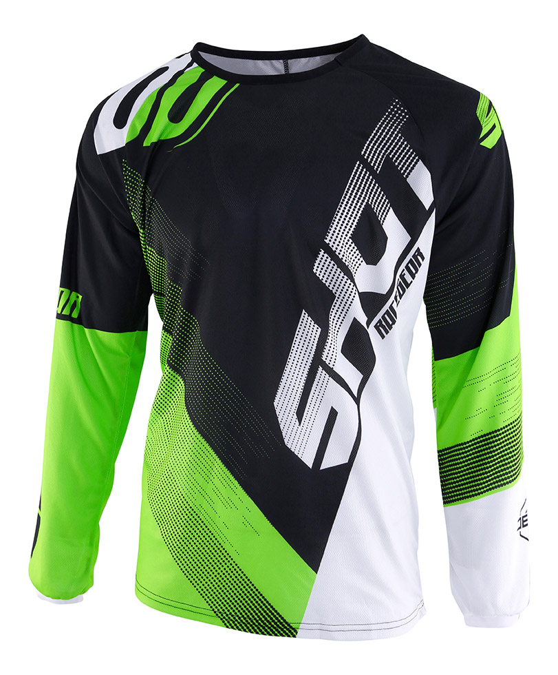SHOT RACE GEAR 2019 DEVO ULTIMATE DRES BLACK/NEON GREEN