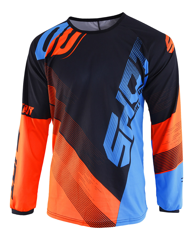 SHOT RACE GEAR 2019 DEVO ULTIMATE DRES BLUE/NEON ORANGE