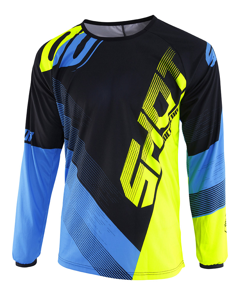 SHOT RACE GEAR 2019 DEVO ULTIMATE DRES BLUE/NEON YELLOW