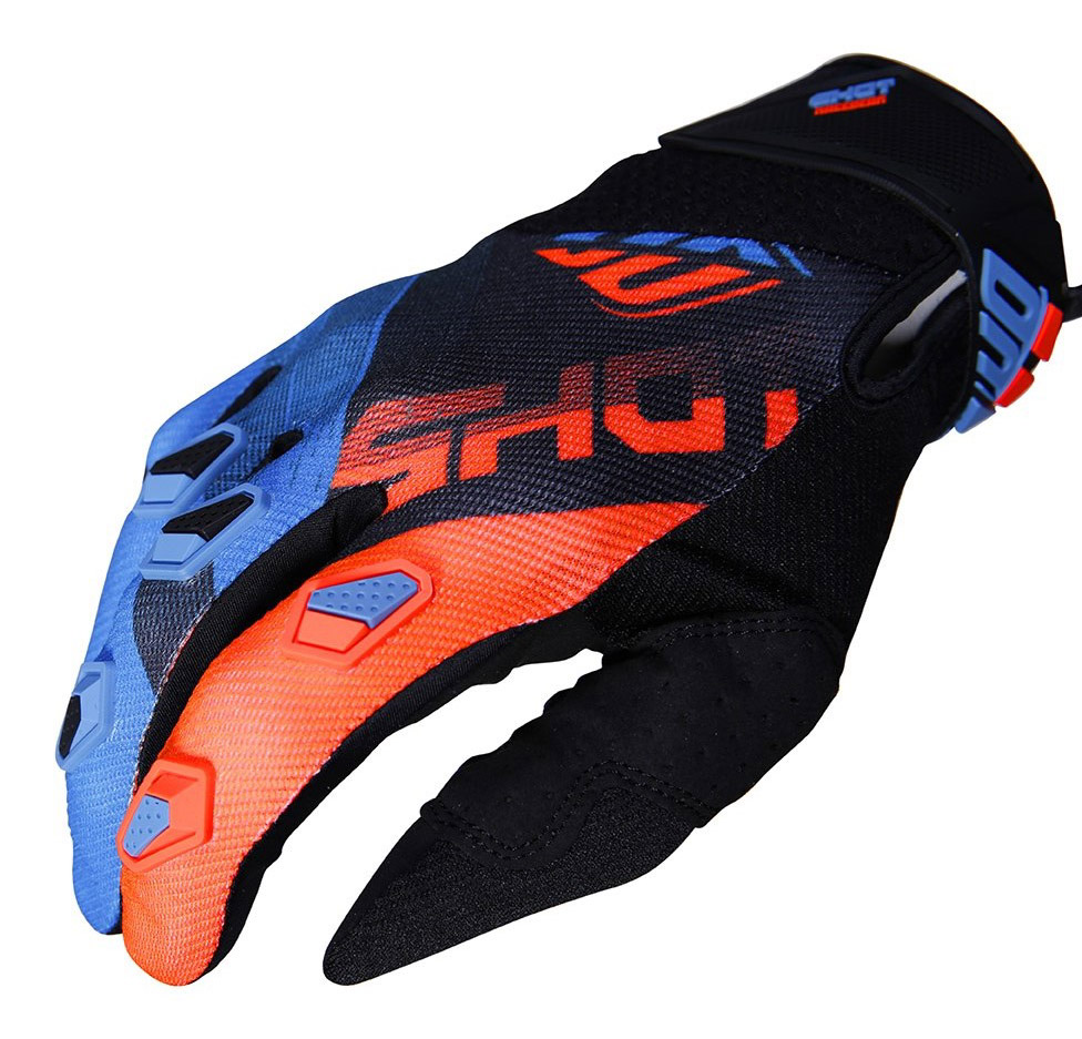 SHOT RACE GEAR 2019 DEVO ULTIMATE BLUE/NEON ORANGE