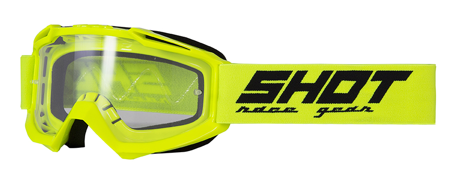 SHOT RACE GEAR 2020 - BRÝLE - ASSAULT - NEON ŽLUTÁ