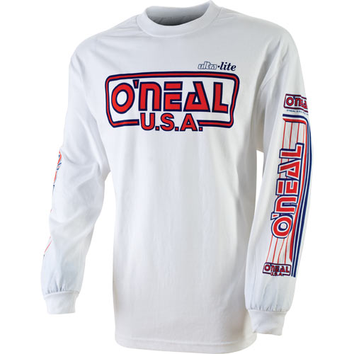ONEAL TRIKO ULTRA-LITE 85 WHT/RED