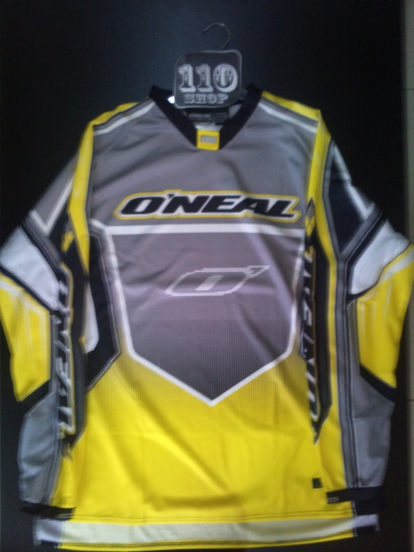 DRES ONEAL HARDWEAR YEL/GRY