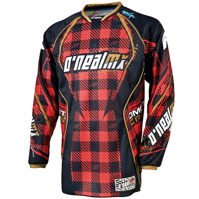 10 ONeal Hardwear DRES PLAID BLACK/RED