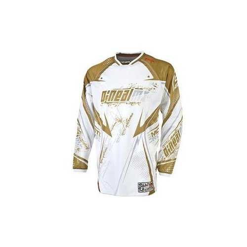 10 ONEAL DRES HARDWEAR VENTED  GOLD/WHT