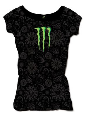 DÁMSKÉ TRIKO Monster Logo Girls Shirt