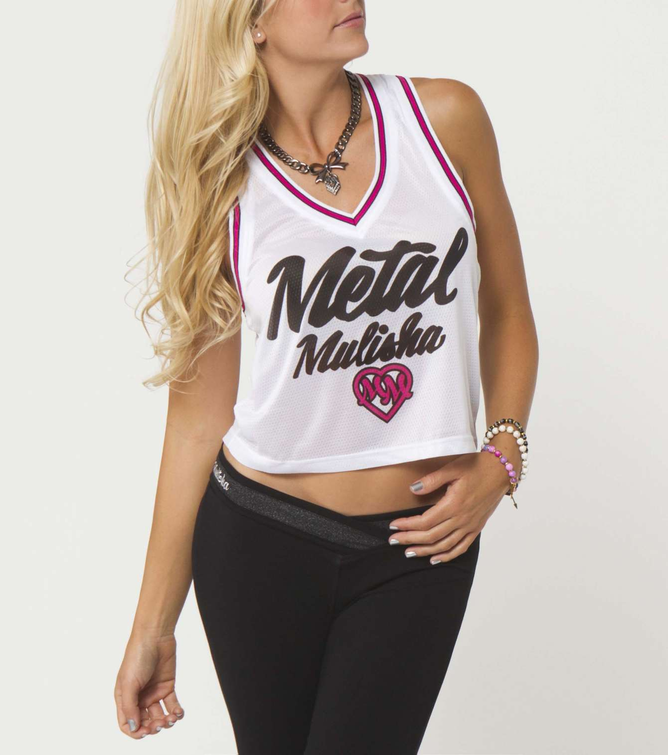 METAL MULISHA HOOPS CROP TOP