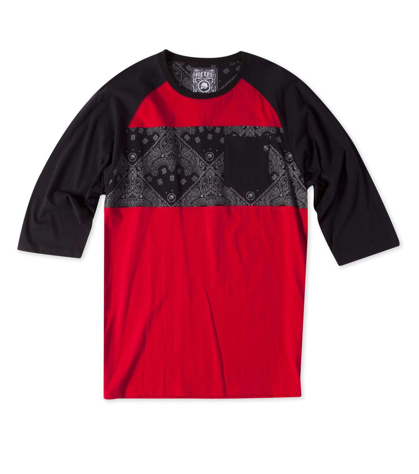 METAL MULISHA RAGS TO RICHES KNIT RED/BLK