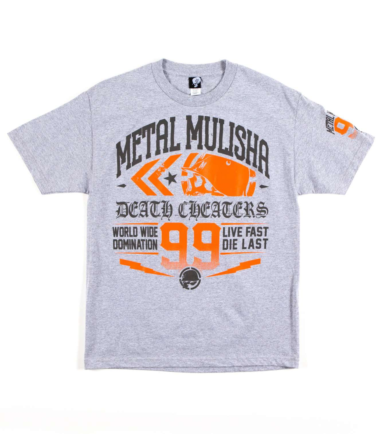 METAL MULISHA RE-CAP TEE GREY