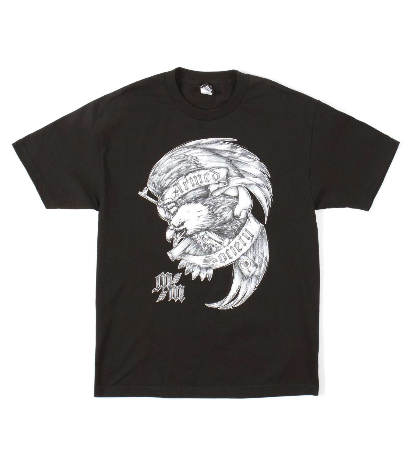 METAL MULISHA DEATH ABOVE TEE BLK