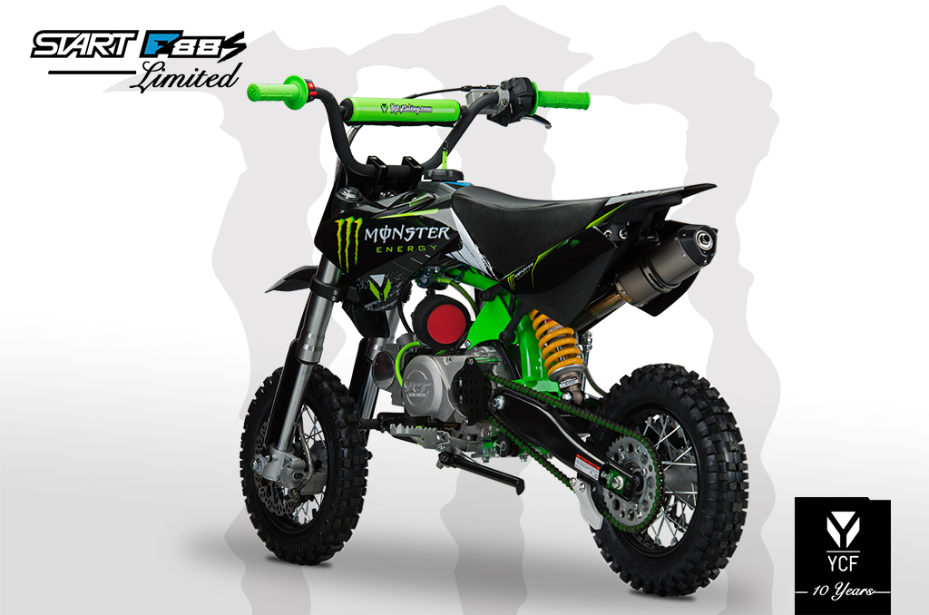 YCF START F88S LIMITED MONSTER PITBIKE 2014