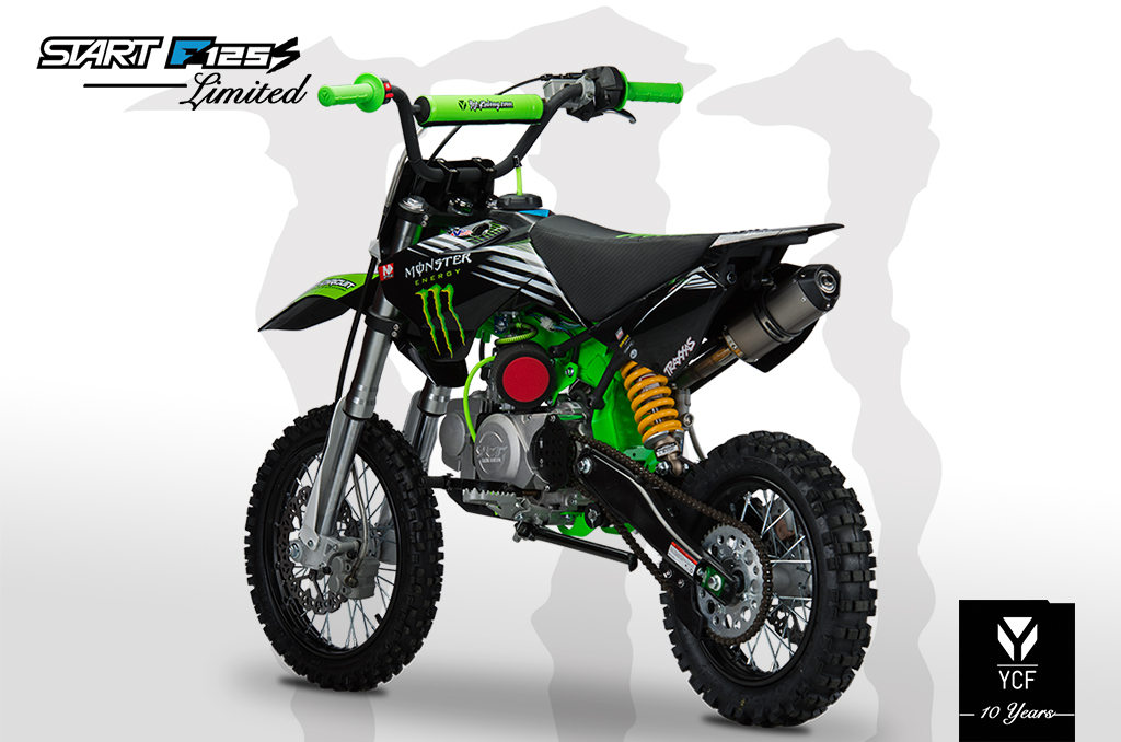 YCF START F125S LIMITED MONSTER PITBIKE 2014