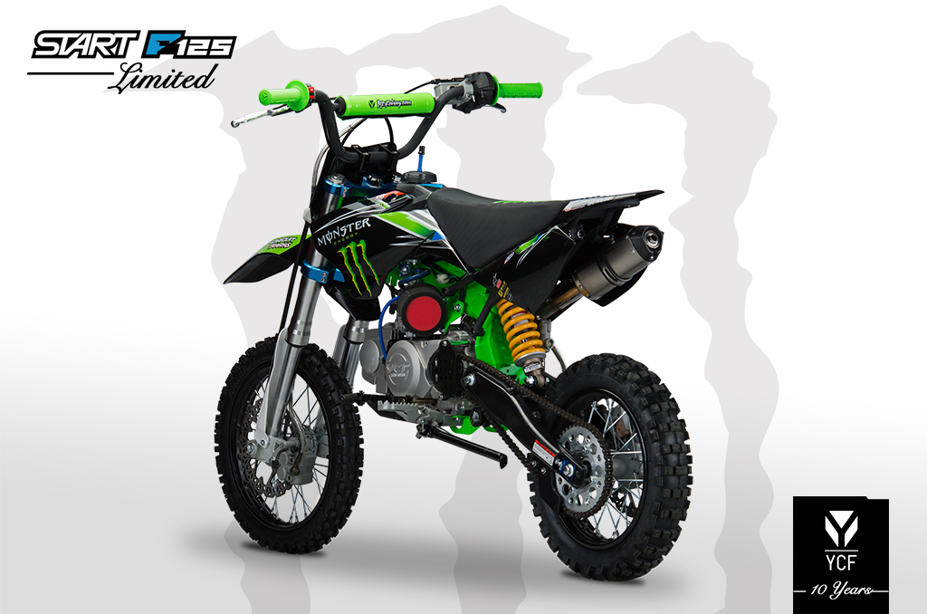 YCF START F125 LIMITED MONSTER PITBIKE 2014