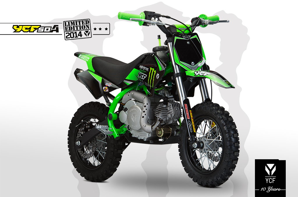 PITBIKE YCF 50 YCF LIMITED MONSTER 2014
