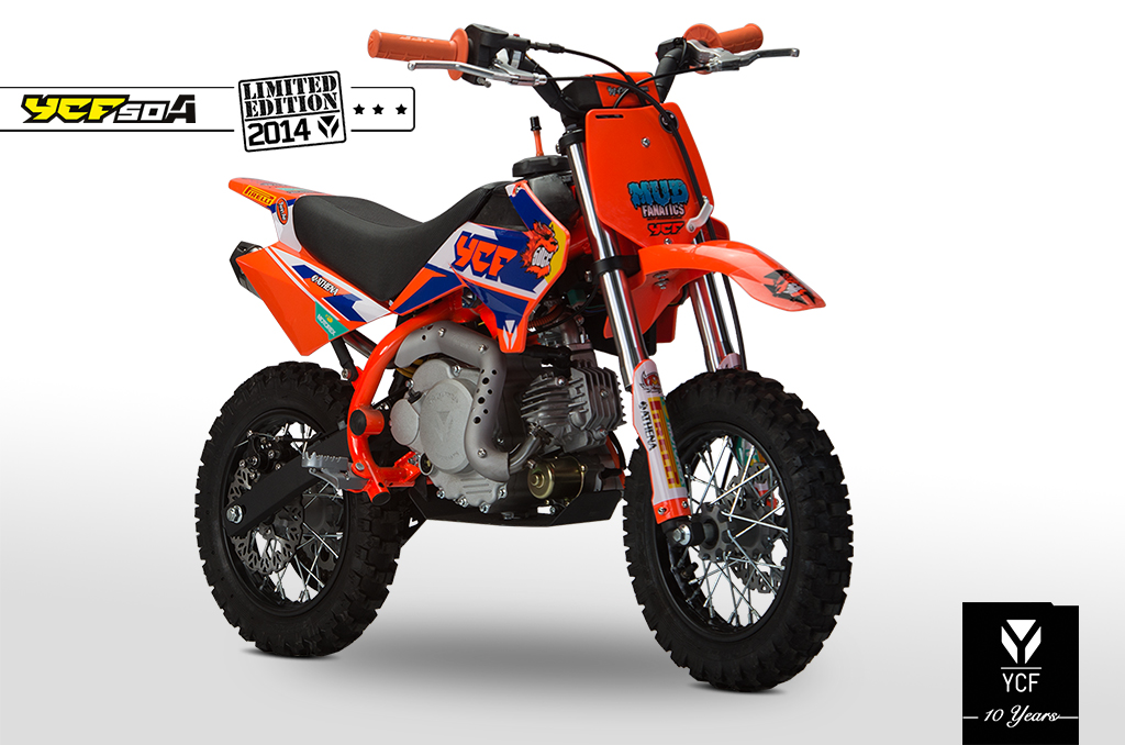PITBIKE YCF 50 YCF LIMITED ORANGE 2014