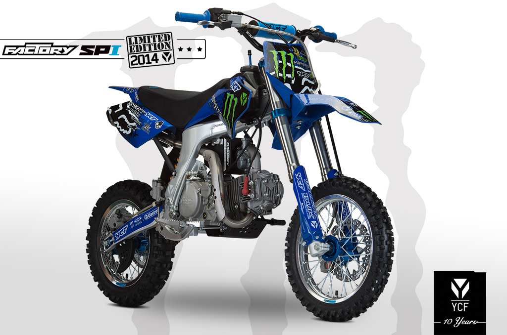 PITBIKE YCF FACTORY SP I MONSTER EDITION 2014