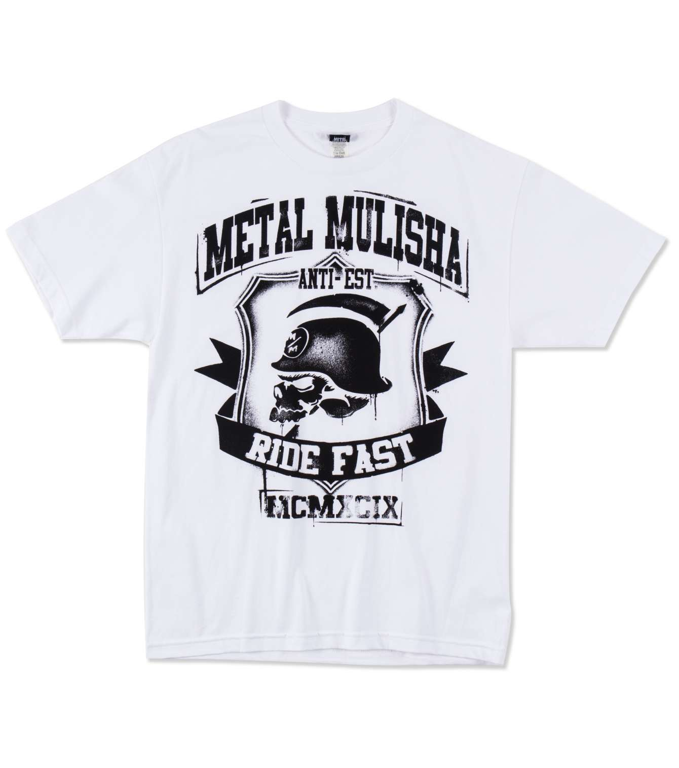 METAL MULISHA CALLED IT TEE TRIKO WHIT/BÍLÉ