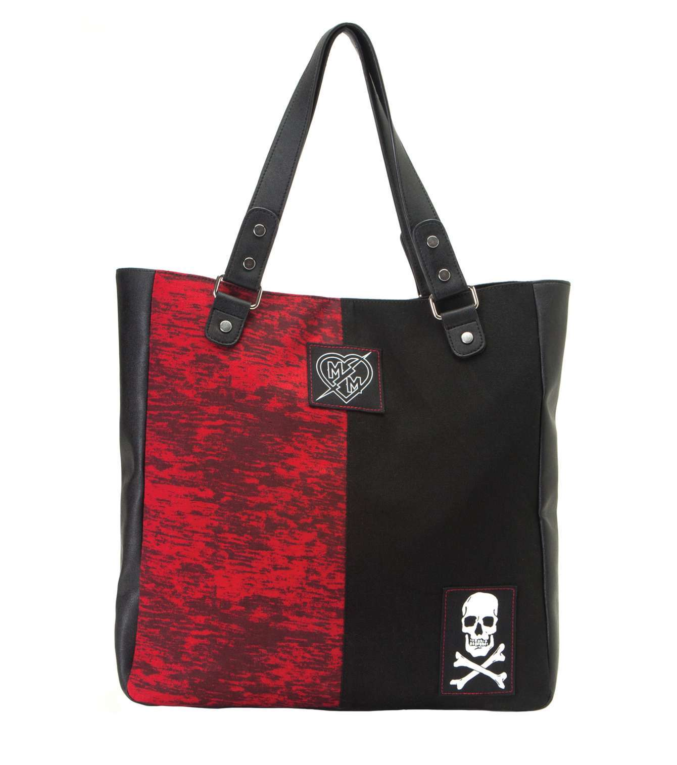 METAL MULISHA KABELKA MISFIT TOTE BLK/RED