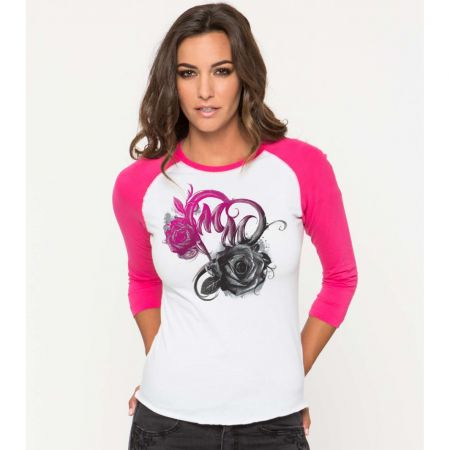 TRIKO METAL MULISHA PASSION RAGLAN WMS -