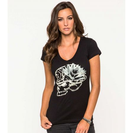 TRIKO METAL MULISHA LOTUS VNECK WMS -