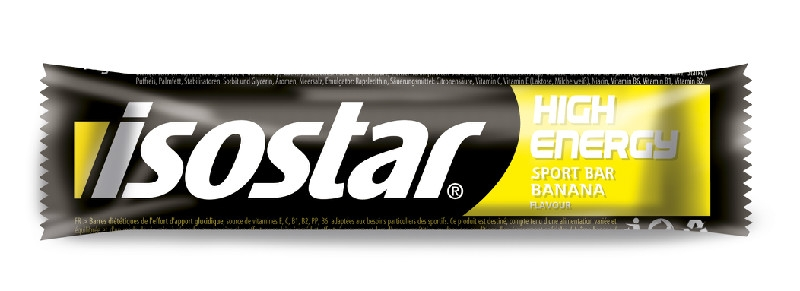 Isostar High Energy Sport Bar, banán, 40g