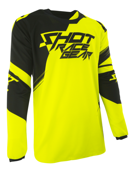 SHOT RACE GEAR 2017 DRES CONTACT CLAW NEON ŽLUTÁ