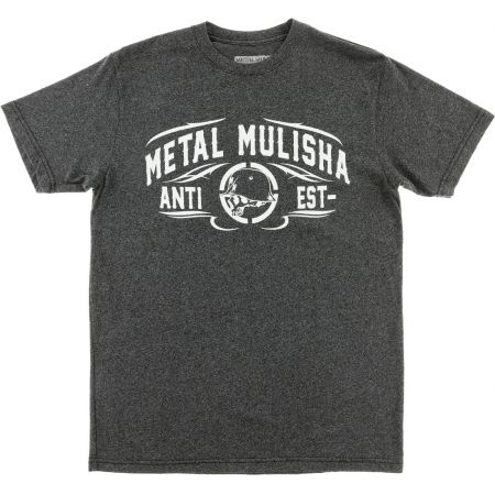 TRIKO METAL MULISHA COUNTER - HEATHER - šedá