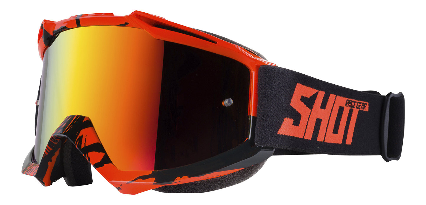 SHOT RACE GEAR 2018 BRÝLE IRIS   RECALL NEON ORANGE