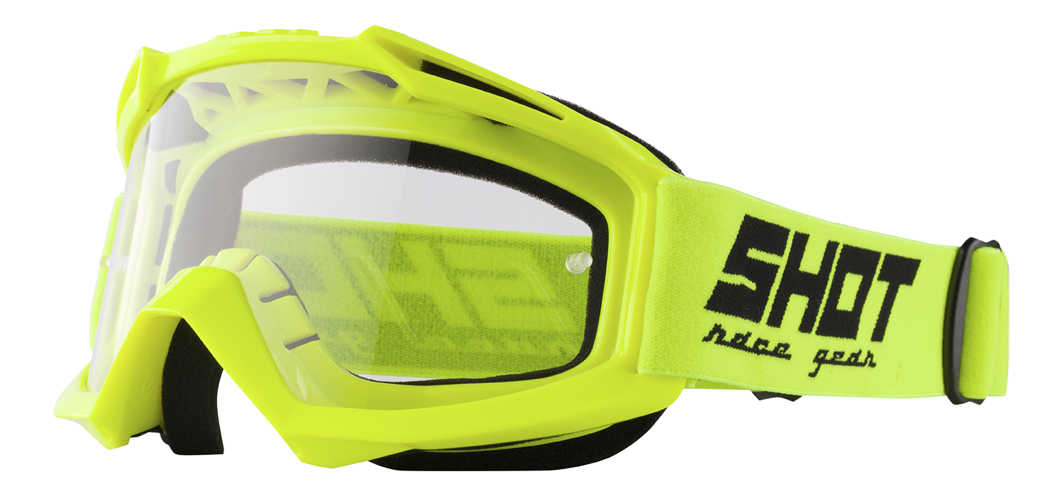 SHOT RACE GEAR 2018 BRÝLE ASSAULT  NEON YELLOW
