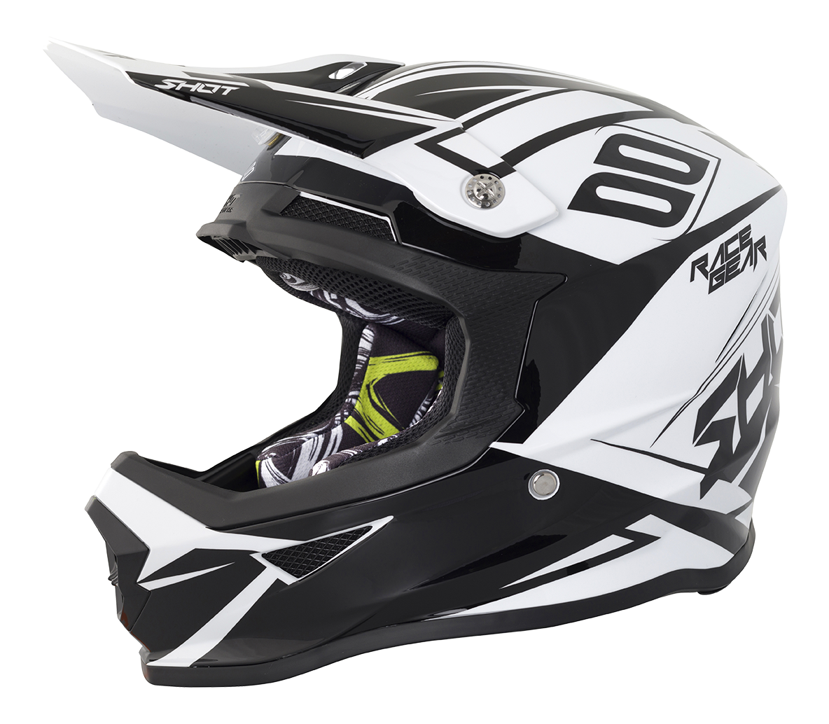 SHOT RACE GEAR 2018  HELMA FURIOUS ALERT - BLACK