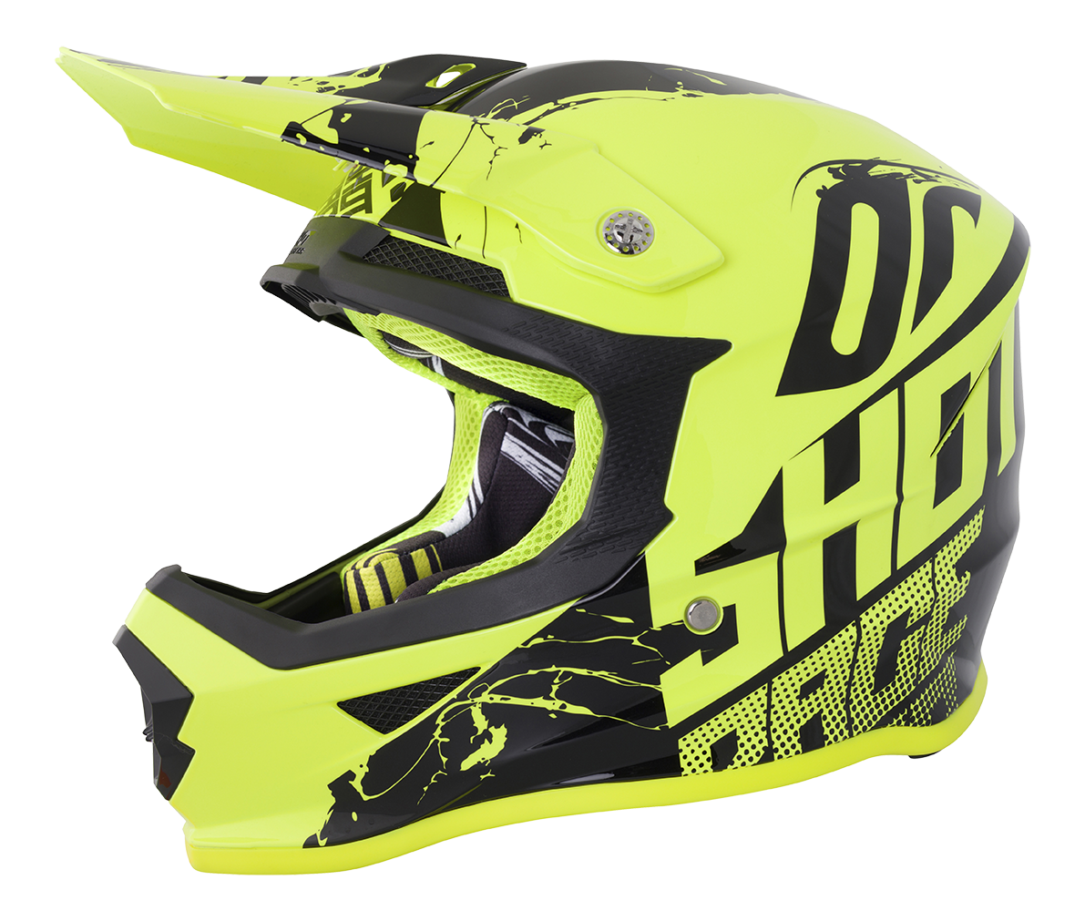 SHOT RACE GEAR 2018  HELMA III FURIOUS VENOM NEON YELLOW BRILLANT
