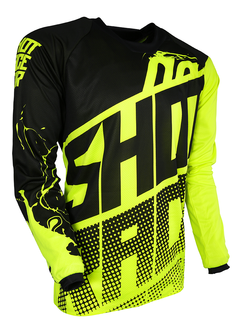 SHOT RACE GEAR 2018 DRES CONTACT VENOM NEON ŽLUTÁ