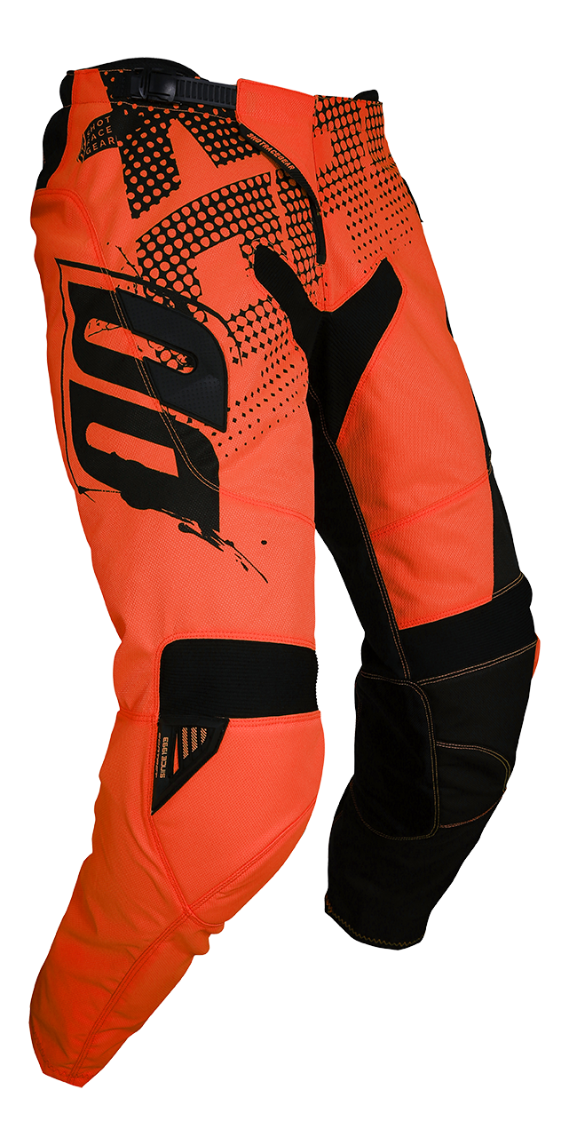 SHOT RACE GEAR 2018 KALHOTY CONTACT VENOM NEON ORANGE