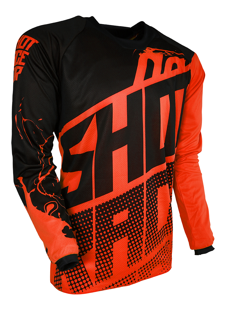 SHOT RACE GEAR 2018 DRES CONTACT VENOM NEON ORANGE