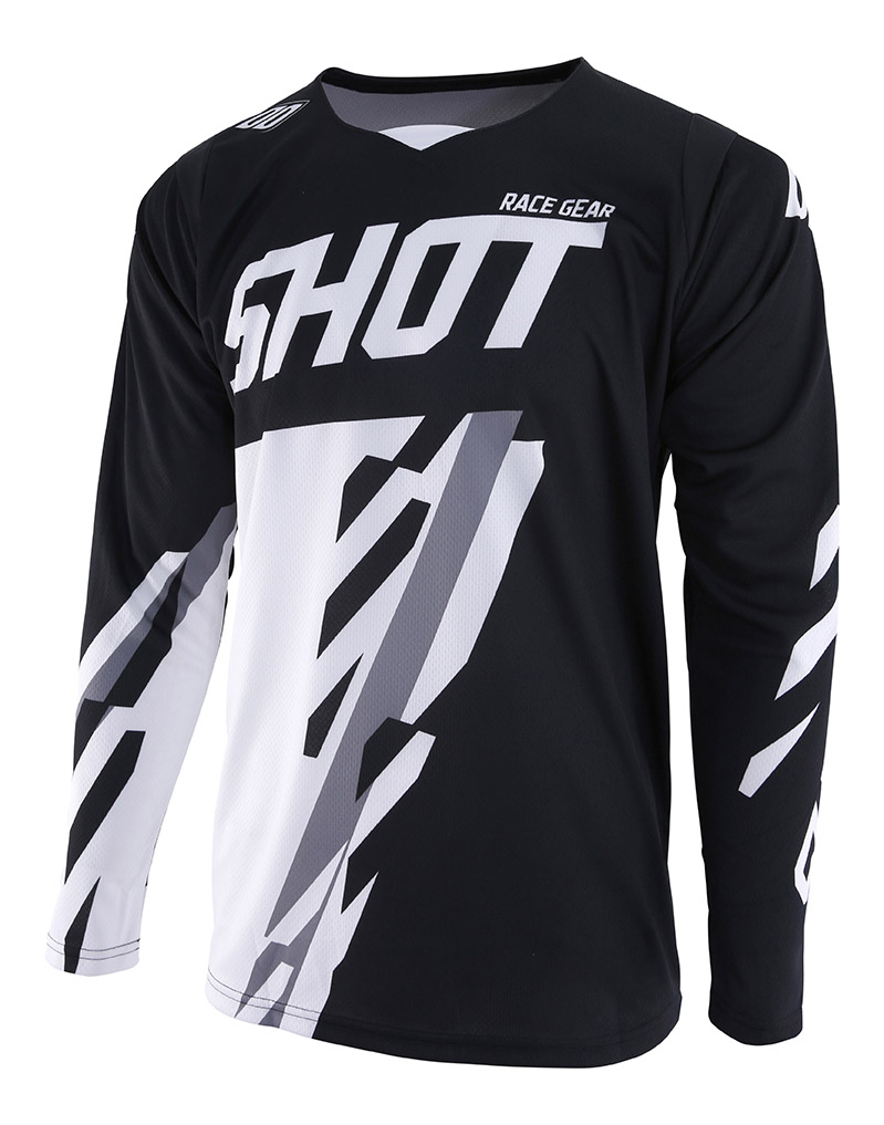 SHOT RACE GEAR 2019 CONTACT SCORE BLK/WHT DRES