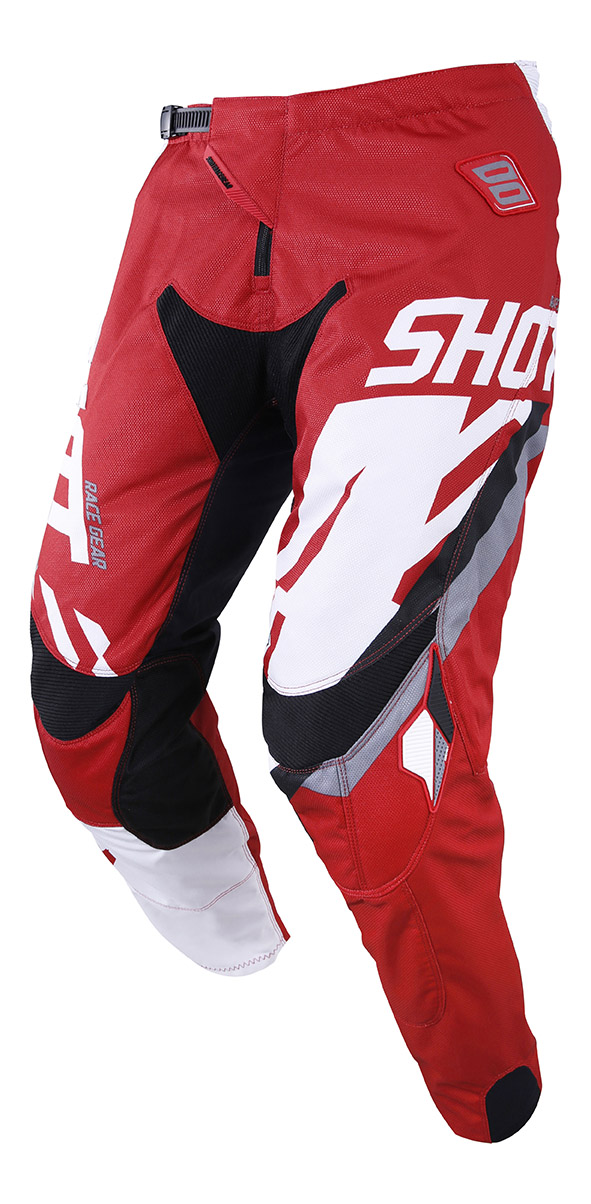 SHOT RACE GEAR 2019 CONTACT SCORE  RED/WHT KALHOTY