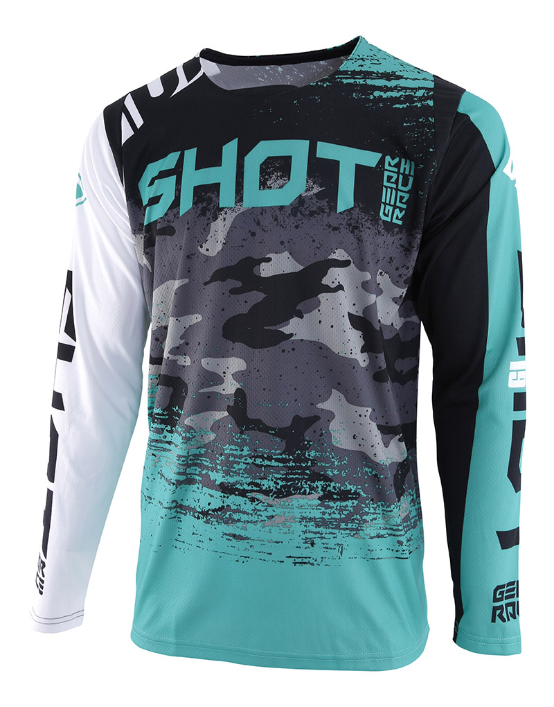 SHOT RACE GEAR 2019 CONTACT COUNTER WHT/GREEN DRES